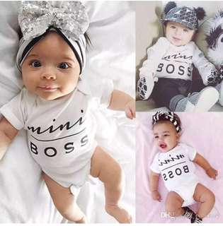 [PO] #1053 Mini Boss Baby Romper