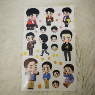 EXO Chansekai stickers