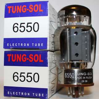 Tung-Sol 6550 Power Tubes