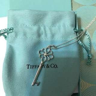 Tiffany & Co. KEYS 結形鑰匙鑽石頸鍊
