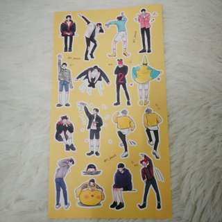 EXO Chanyeol stickers (Y_puzzi)