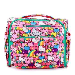 [Pre-Order] BNIP Ju-ju-be x Hello Kitty Lucky Stars BFF Diaper Bag (Complete w cp, mess strap, bp straps)