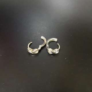 For FREE!!! For Worth PHP30 and Up Items!!! Preloved Stainless Earrings