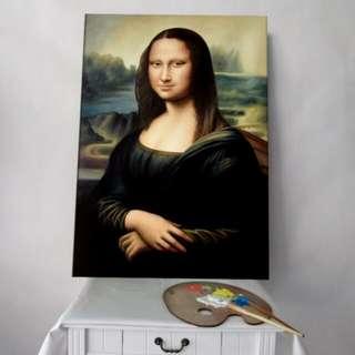 Handmade Oil painting reproduction Mona Lisa by Leonardo da Vinci