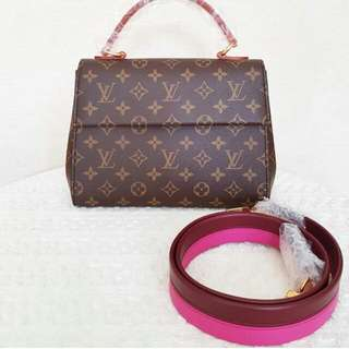 👉NEW - LV Cluny Pink 2018 # d