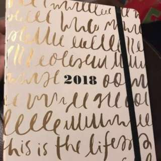 Kate spade 2018 planner preorder this is life