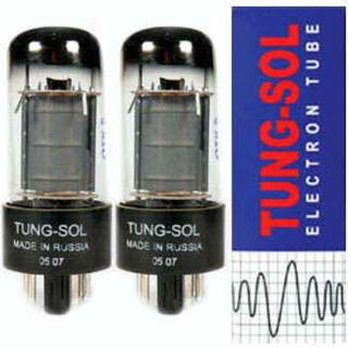 Tung-Sol 6V6GT Power Tubes