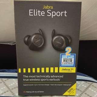 Jabra Elite Sport 升級版 黑色