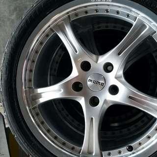 Momo Mags & Falken Tires