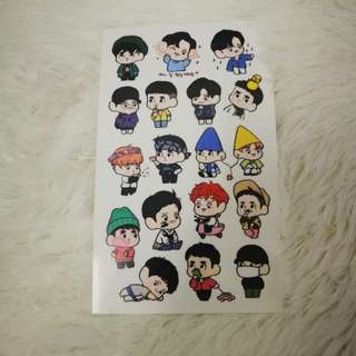 EXO chansoo stickers