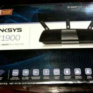 Linksys ac1900 dual band router