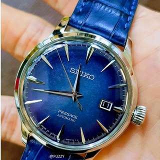Seiko Presage SARY085 Starlight Star Bar Cocktail Limited
