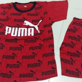 Ready stock unisex puma set
