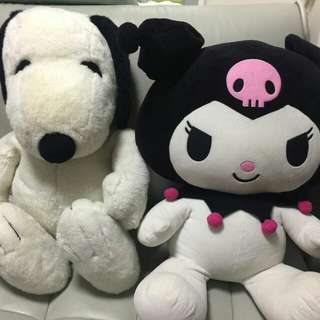 Kiromi and Snoopy 绝版公仔