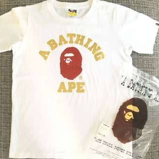 A Bathing Ape BAPE Tee 100% ORIGINAL