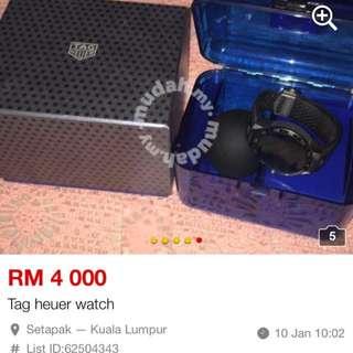 Tag heuer watch buy  in hongkong 2yrs old original prive rm8k