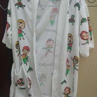 Baju Handuk Anak