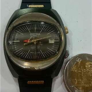 watch SICURA Alarm date manual