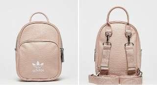 Adidas Originals 春夏必備 mini 粉紅 backpack