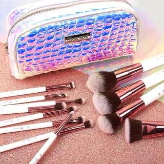 BH Cosmetics Crystal Quartz (12 Piece Brush Set)