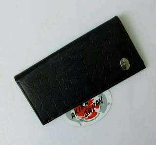 A Bathing Ape Camo Leather Long Wallet