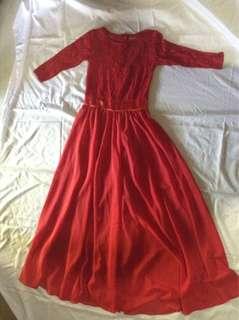 Get Laud Floor-Length Dress