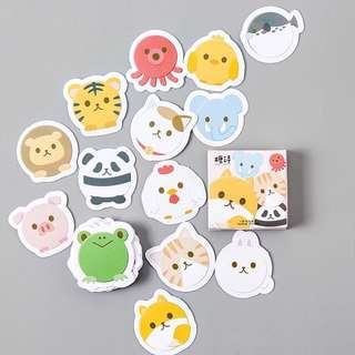 Animal Faces Scrapbook / Planner Stickers #86