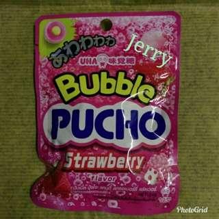 UHA味覺糖草莓泡泡味