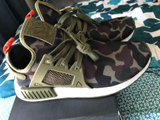 NMD Adidas Camouflage Size 8