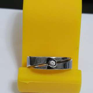 🚚 男用銀戒指(內徑約18mm)
