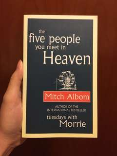 the five people you meet in the heaven