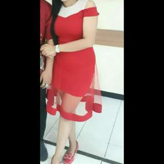 Red Dress Tile