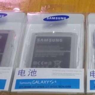 全新正版三星s4手機電池有單電同套裝出售