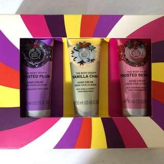 The Body Shop Hand Cream Gift