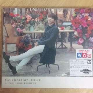 Super Junior圭賢日單Celebration CD+DVD