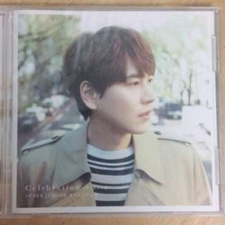 Super Junior圭賢日單Celebration CD版