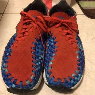 🚚 Nike woven 紅藍編織 us8.5 26.5cm