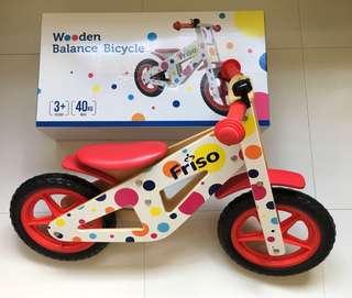 Friso Wooden Balance Bike