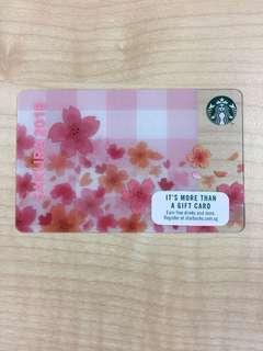 Starbucks Gift Card Sakura 2018