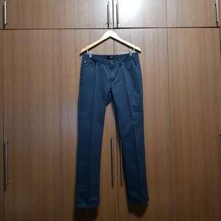 Memo TrueFitt Slate Black Chino Pants