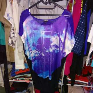 Blouse Blue Galaxy