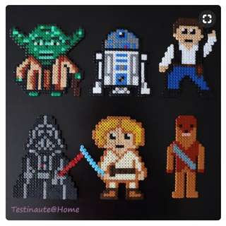 StarWars Hama Bead Designs