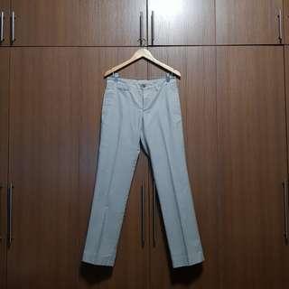 Zara Man Classic Light Gray Dress Pants