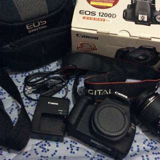 CANON 1200D (100% PERFECT CONDITION)