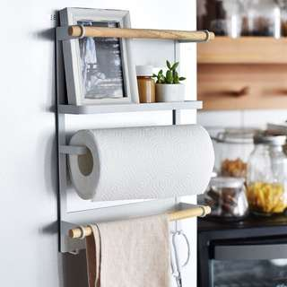 Minimalist Magnetic Storage Rack