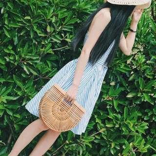 PO Gaia Bamboo Clutch