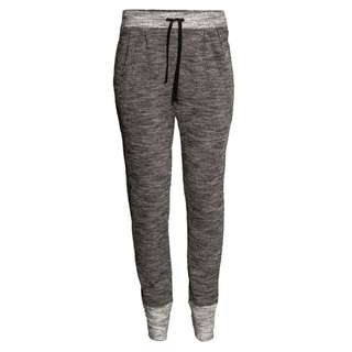 H&M Activewear Contrast Sweatpants in Dark Grey