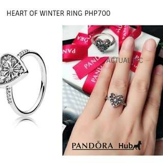 Pandora Heart Of Winter Ring