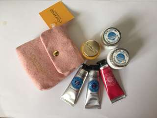 L'Occitane Hand Creme & Lotion Set
