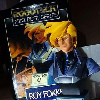 Toynami ROBOTECH Mini Bust Series - Roy Fokker (2002) Macross Focker